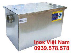 Bẫy Mỡ Inox Công Nghiệp 140L BM-A140