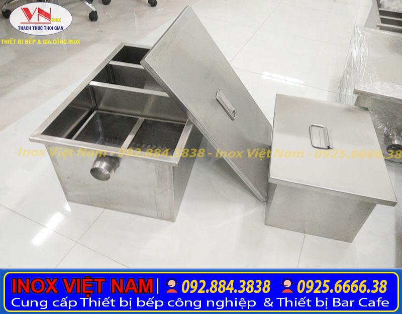 Bể tách mỡ gia đình 30 lít một trong những thiết bị tách mỡ nhà bếp cao cấp không thể thiếu.