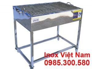 Bếp Nướng BBQ Ngoài Trời Inox LN-06