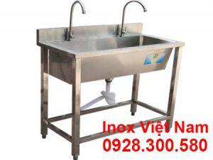 Máng Rửa Inox Công Nghiệp 1m CR-15