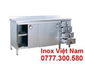 Tủ Inox Có Hộc Kéo TUI-06