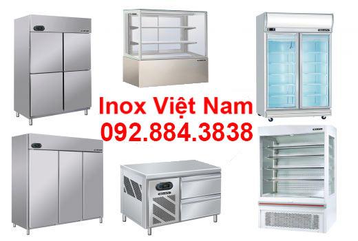 Tủ lạnh, tủ đông, tủ mát của Inox Việt Nam.