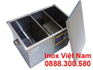 Bể Tách Mỡ Inox Nhà Hàng 100lit BM-N100