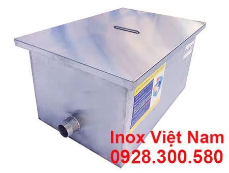 Bẫy Mỡ Inox Nhà Hàng 70lit BM-N70