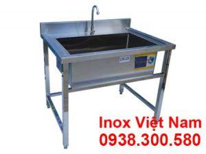 Chậu Rửa Đơn Inox Loại Lớn CR-03