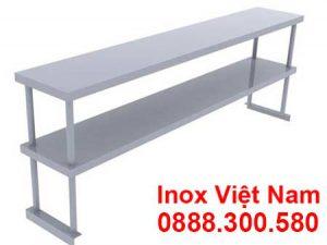 Kệ Inox Phẳng 2 Tầng KEI-03