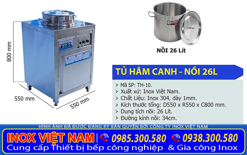 Tủ hâm nóng thức ăn công nghiệp giá tốt tại TPHCM.