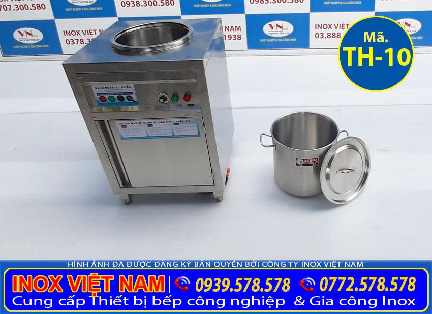 Tủ giữ nóng cơm canh nồi inox 26l - tủ hâm nóng thức ăn cao cấp.