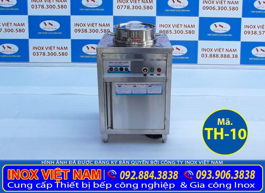 Tủ hâm nóng canh nồi 26 lít - Mẫu tủ bán cơm hâm nóng được ưa chuộng nhất hiện nay.