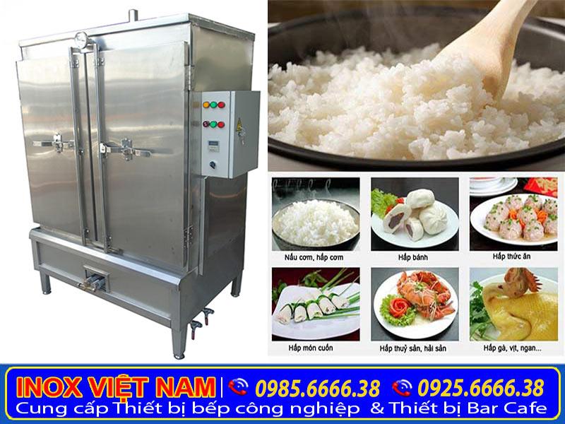 Tủ nấu cơm công nghiệp của Inox Việt Nam.