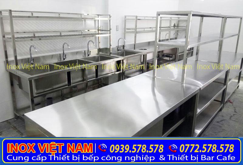 Kệ bếp inox, kệ chén inox 304, kệ để chén inox giá gốc chính hãng.