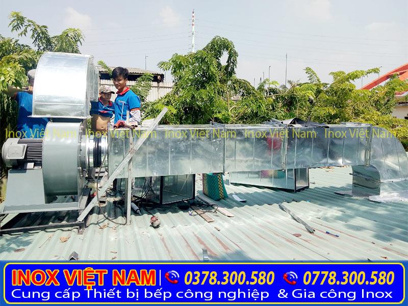 Inox Việt NaInox Việt Nam lắp đặt hệ thống chụp hút mùi, hệ thống hút khói nhà hàng.m lắp đặt hệ thống chụp hút mùi, hệ thống hút khói nhà hàng.