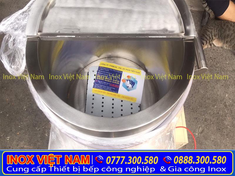 Nồi nấu phở bằng điện, nồi nấu phở inox, nồi nấu nước lèo với chất liệu inox cao cấp.