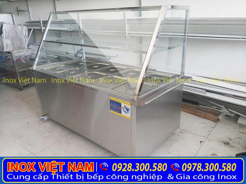 Thiết bị bếp inox công nghiệp chuyên cung cấp tủ hâm nóng thức ăn, tủ giữ nóng thức ăn, quầy hâm nóng thức ăn chất lượng tại tphcm.