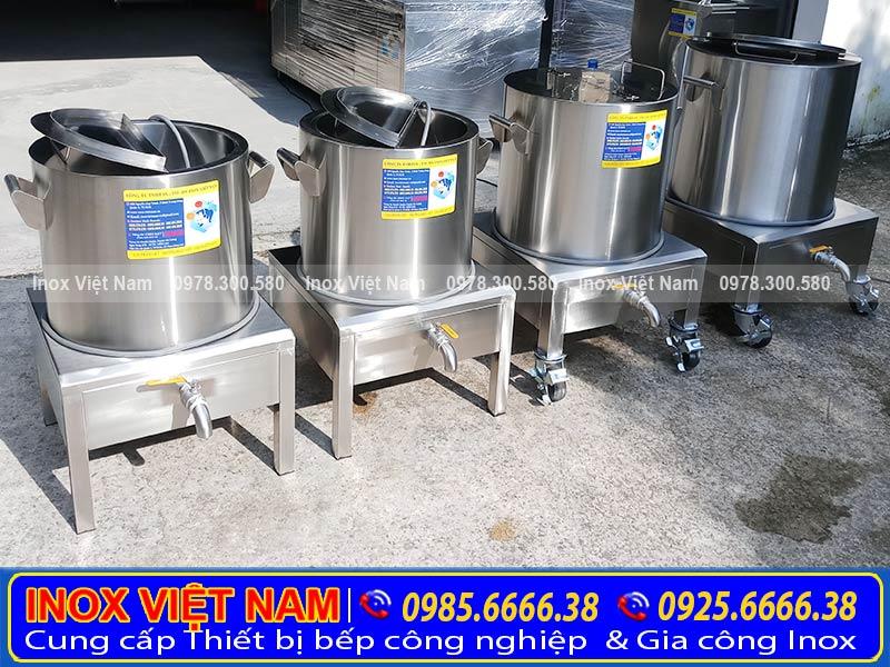 Địa chỉ mua nồi nấu cháo công nghiệp bằng điện. giá tốt chất lượng tại TPHCM.