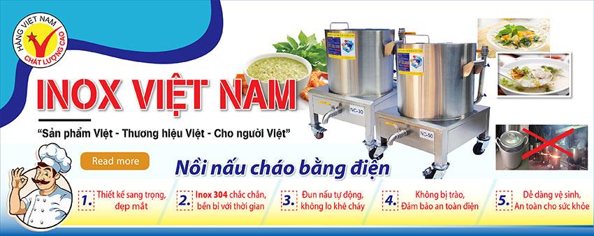 Mua ngay nồi nấu nồi nấu cháo công nghiệp bằng điện, nồi hầm cháo công nghiệp chất lượng giá tốt chỉ có tại Inox Việt Nam.