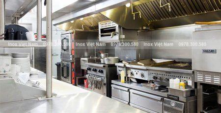 Thiết bị bếp inox công nghiệp.