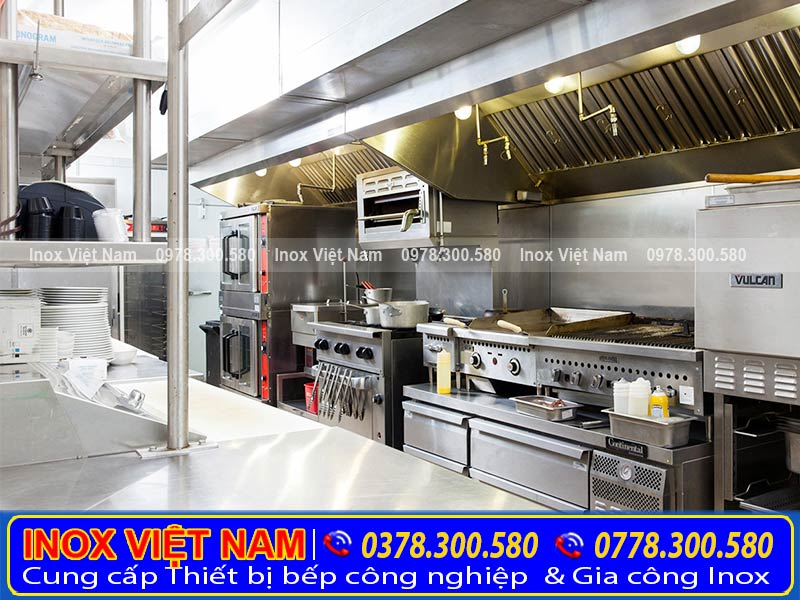 Thiết bị inox bếp nhà hàng giá rẻ tại tphcm.