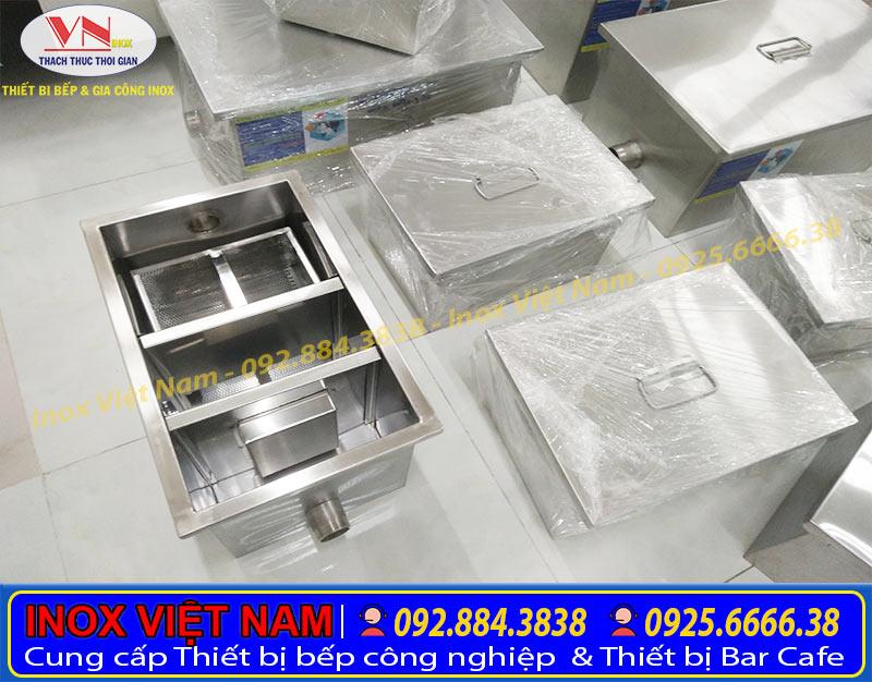 Báo giá bể tách mỡ inox, bẫy mỡ inox chất lượng tại TPHCM.