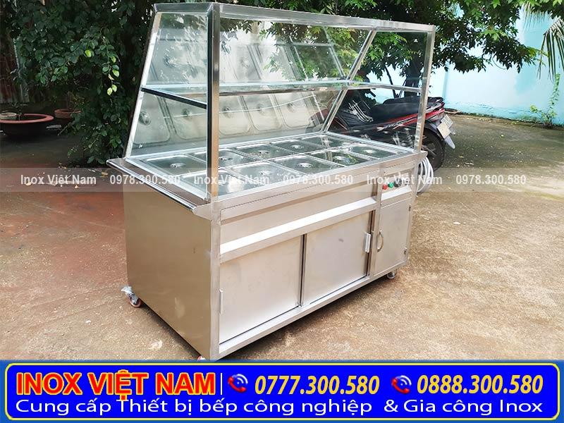 Tủ hâm nóng thức ăn giá tốt tại TP.HCM.
