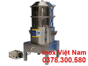 Nồi hấp cơm tấm bằng điện 2 Tầng NHCT-D440-2T.