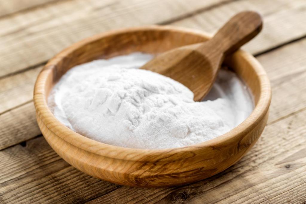 Baking soda kết hợp với giấm hỗn hợp làm sạch hiệu quả nhất.