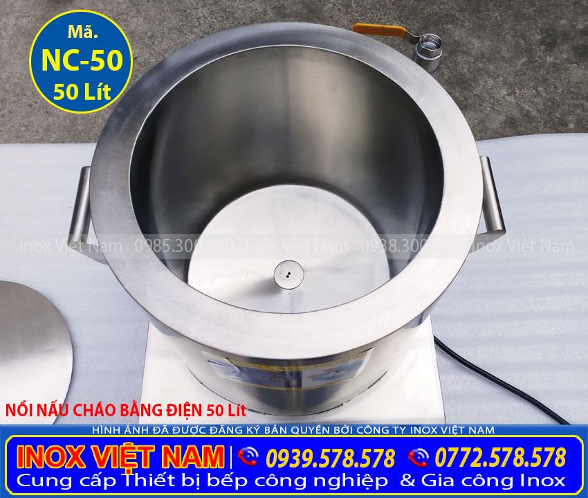 Địa chỉ bán nồi nấu cháo bằng điện, nồi điện nấu cháo công nghiệp giá tận xưởng liên hệ Inox Việt Nam Ngay.