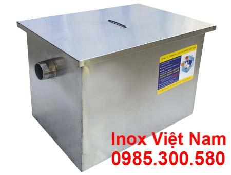 Bể Tách Dầu Mỡ Bếp Công Nghiệp Lắp Nổi 150 Lít BM-N150.