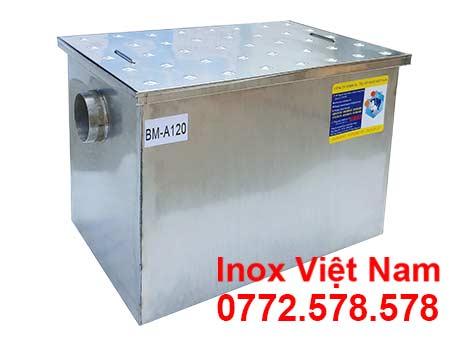 Bẫy Mỡ Inox Bếp Nhà Hàng 120l BM-A120
