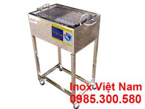 Lò Nướng Thịt Bán Cơm Tấm Bằng Inox LN-01