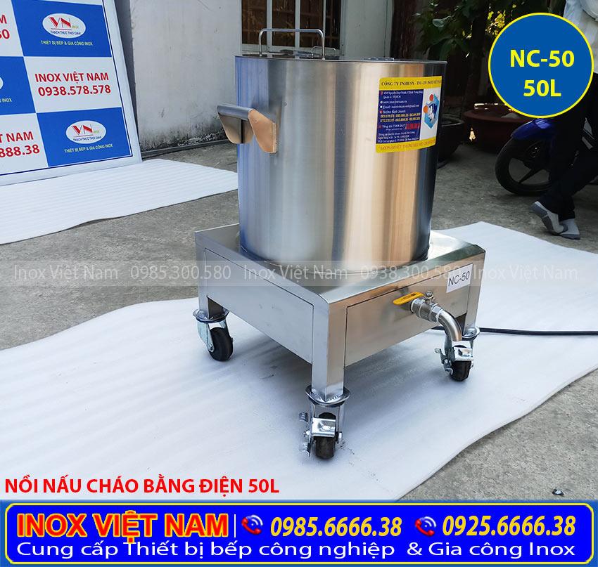 Nồi nấu cháo bằng điện chính hãng, nồi nấu cháo công nghiệp sử dụng điện tại IVN được nhiều khách hàng lựa chọn.