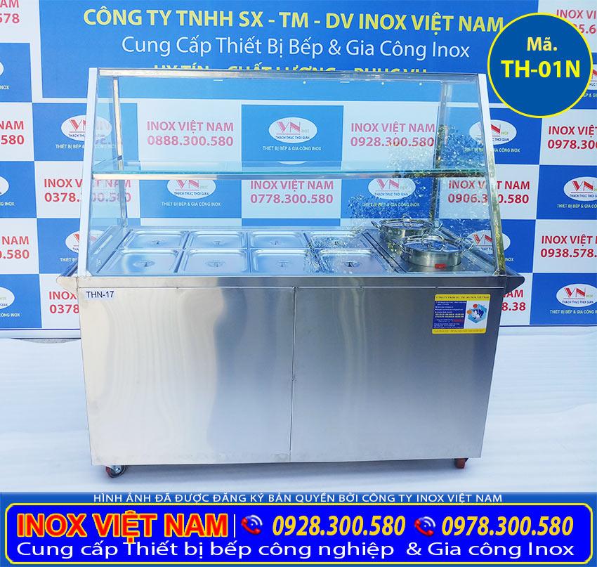 Địa chỉ mua tủ hâm nóng thức ăn, tủ giữ nóng thức ăn giá rẻ tại TPHCM.