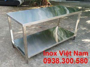 Bàn Inox 2 Tầng BAI-09