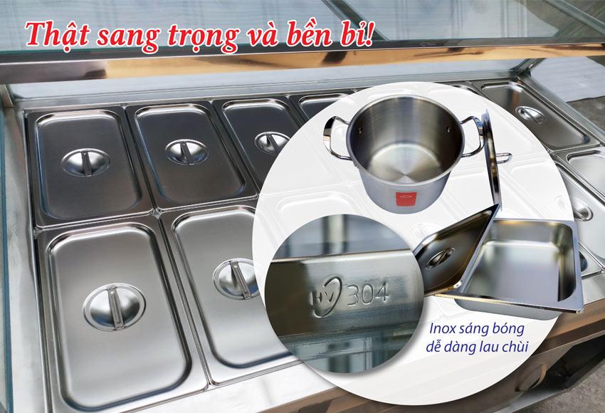 Báo giá tủ hâm nóng thức ăn, tủ giữ nóng thức ăn , quầy giữ nóng thực phẩm,. Vui lòng gọi ngay Hotline: 0378.300.580 (Zalo) + 0906.300.580 (Zalo).
