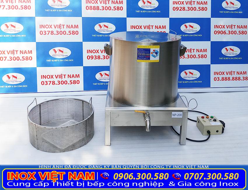 Thiết bị bếp inox công nghiệp - Địa chỉ mua nồi nấu phở bằng điện, nồi nấu phở inox, nồi nấu hủ tiếu bằng điện, nồi hầm xương nấu nước lèo chất lượng, giá tốt tại TPHCM.
