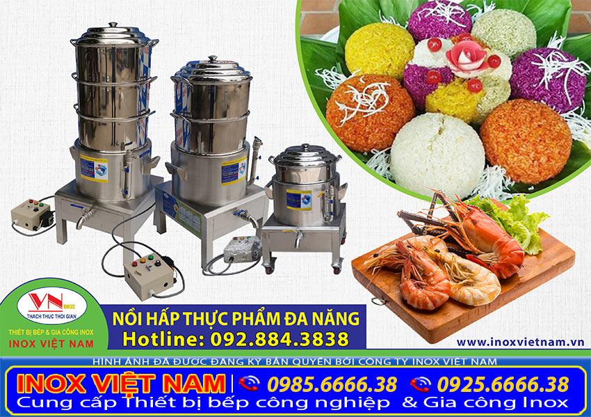 Nồi hấp cách thủy công nghiệp, nồi hấp điện công nghiệp thương hiệu Inox Việt Nam - Bí quyết kinh doanh hiệu quả.