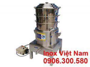 Nồi Hấp Bánh Bao Công Nghiệp Bằng Điện 3 Tầng NHBB-D400-3T