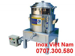 Nồi Hấp Bánh Bao Inox 1 Tầng NHBB-D400-1T