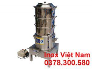 Xửng Hấp Cơm Tấm Bằng Điện 3 Tầng Size 400 NHCT-D400-3T