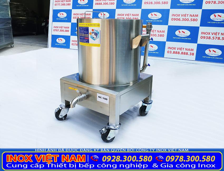 Với thiết thông minh, dễ dàng sử dụng. Chất liệu inox 304 cao cấp bền đẹp. Nồi nấu cháo điện công nghiệp là sự chọn hoàn hảo.