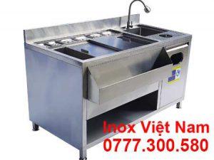 Tủ Đá Inox Quầy Bar QB-14