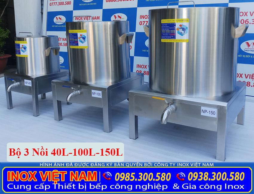Inox Việt Nam - địa chỉ mua bộ nồi nấu phở bằng điện giá tốt tại TPHCM (Ảnh thật tế).