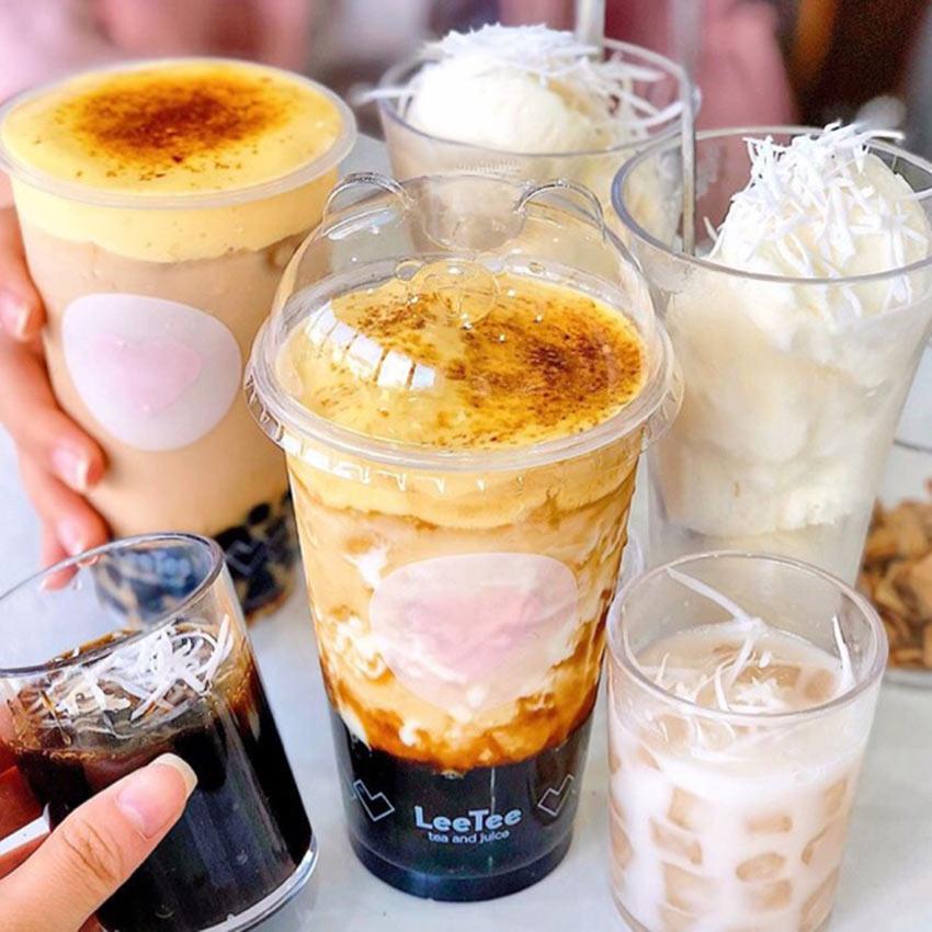 Làm trà sữa kem muối ngon cùng với Thiết bị bếp inox công nghiệp.