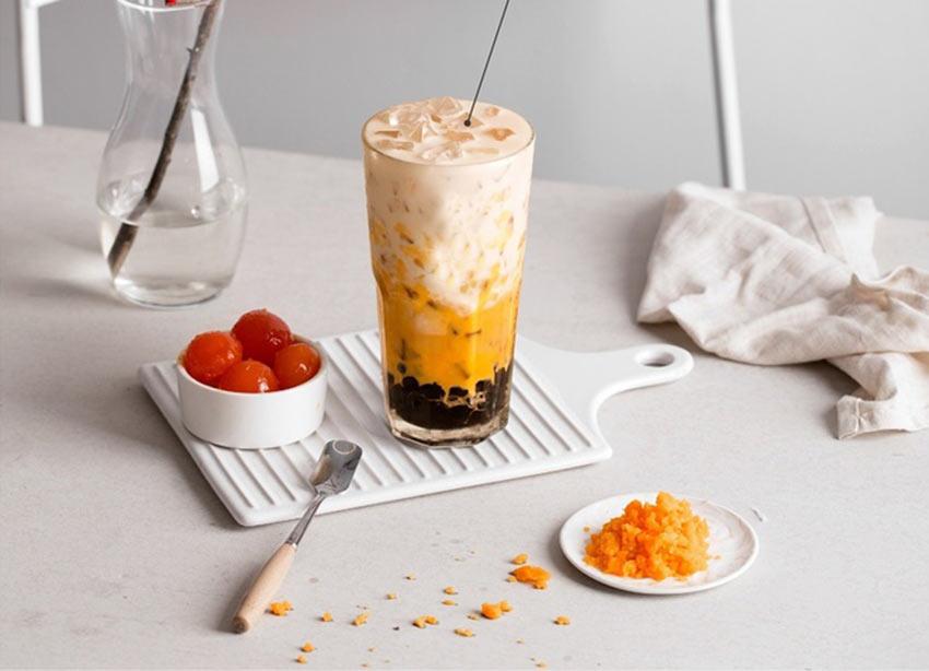 """Cách pha chế trà sữa kem muối bồng bềnh """" bao ngon"""""""