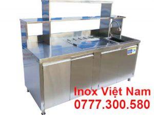 Quầy Pha Chế Inox QB-09