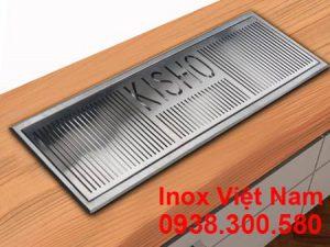 Kệ Úp Ly Inox 304|Kệ Đựng Ly Inox Quầy Bar