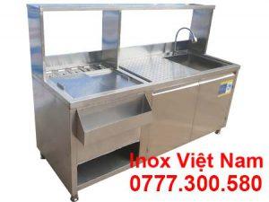 Quầy Bar Cafe Inox QB-01