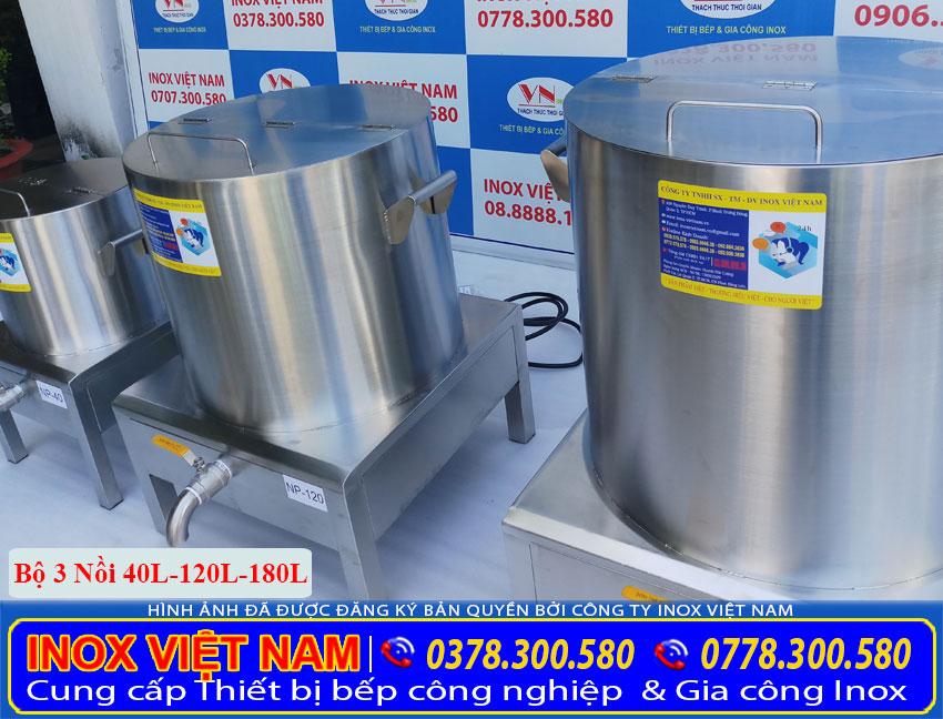 Địa chỉ sản xuất và gia công bộ nồi nấu phở điện, nồi điện nấu nước lèo dùng phở uy tín giá tốt tại TPHCM (Ảnh thật tế).