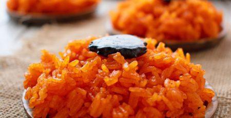 Cách làm xôi gấc đỏ tươi, cách nấu xôi gấc thơm ngon, cách nấu xôi gấc nước dừa.