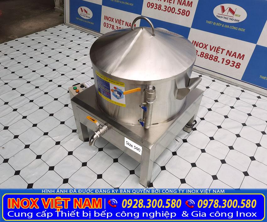 Báo giá nồi hấp bánh bèo điện đến từ thương hiệu Inox Việt Nam.